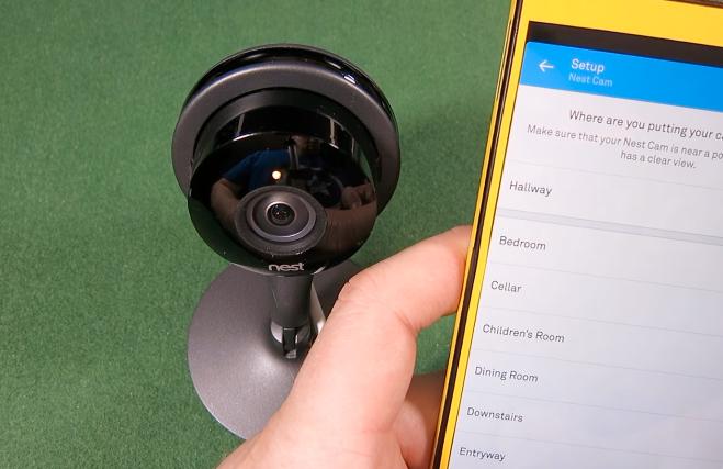 videosorveglianza IP NEST CAM