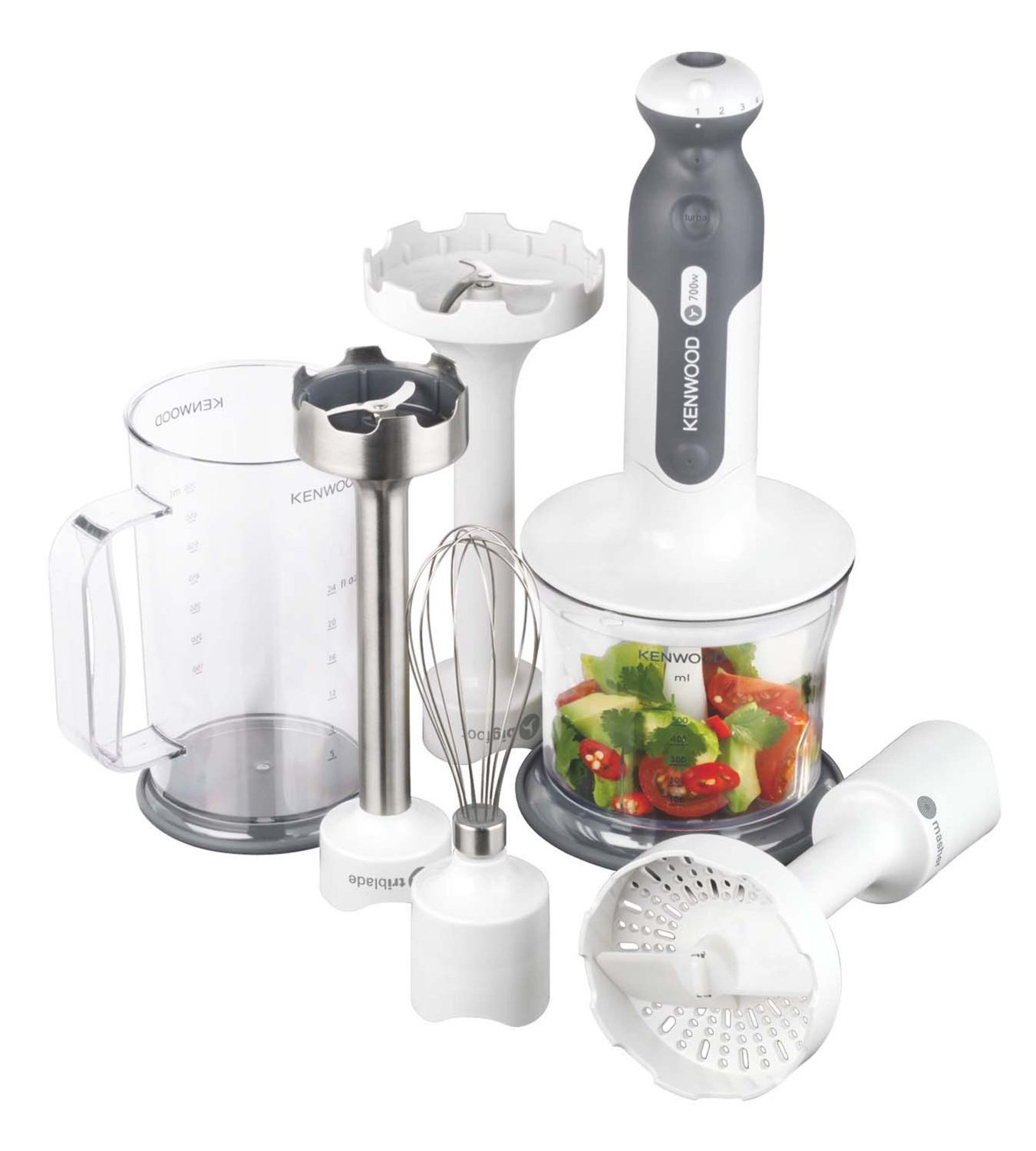 Mixer ad immersione triblade