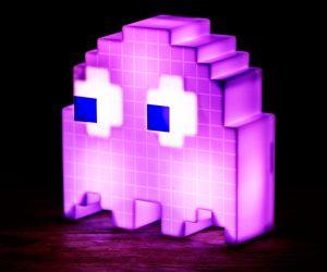 Lampada Fantasmino Pac-Man - Rosa