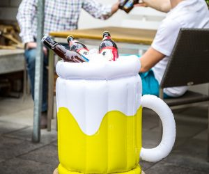 Porta birre gonfiabile