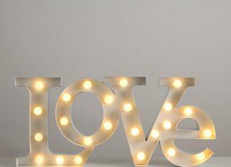 Lampada LED Love