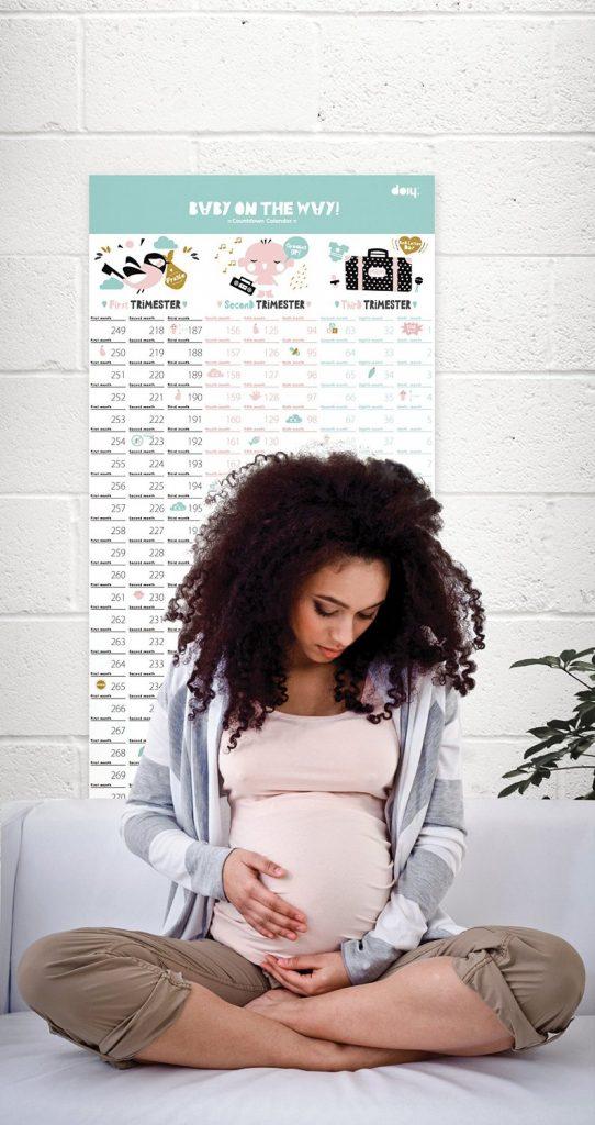 Calendario per futura mamma - Dettaglio