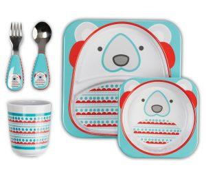 Set posate bambini - Orso polare