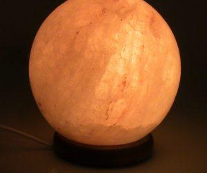 Lampada di sale a sfera