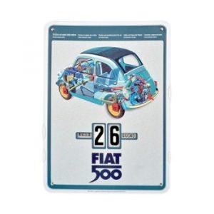 Calendario perpetuo Fiat 2