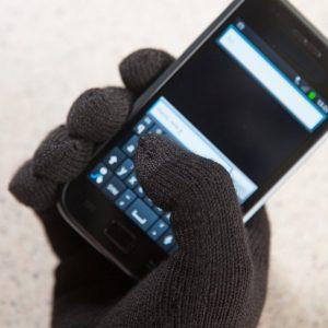 Guanti touch screen - Dettaglio