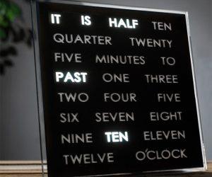 Orologio led da parete o da tavolo idee regalo for Idee per orologio da parete
