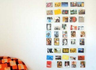 Portafoto da parete a tasche