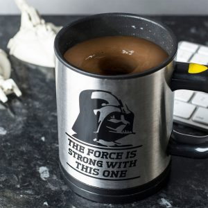 Tazza Star Wars automescolante