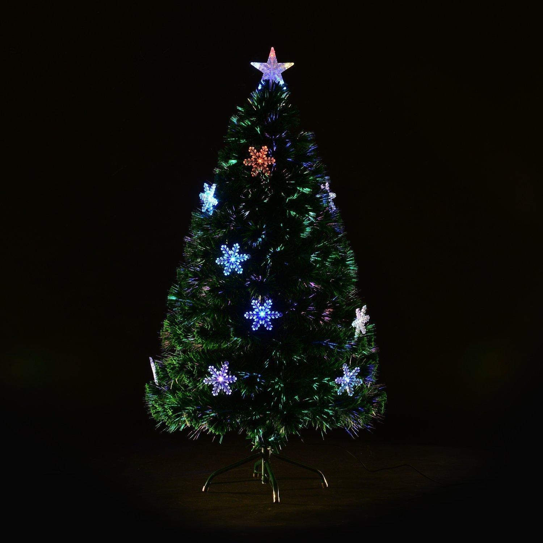 Led Fibre Optic Christmas Tree