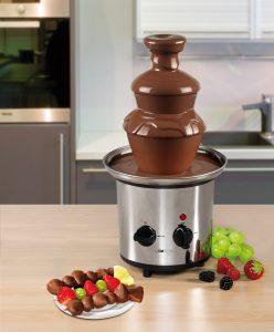 Fontana di cioccolato caldo