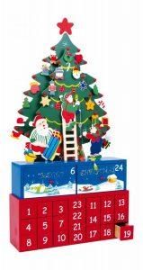 Calendario dell'Avvento - Legno e coloratissimo