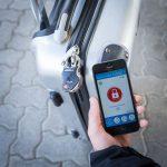 Lucchetto Bluetooth per bagagli