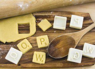 Stampini per biscotti gioco Scarabeo