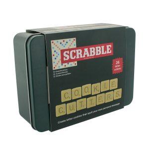 Stampini per biscotti gioco Scarabeo - Scatola