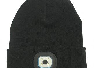 Cappello con luce incorporata