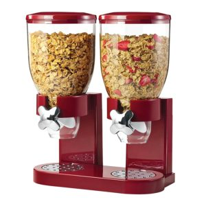 Dispenser per cereali doppio
