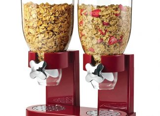 Double grain dispenser