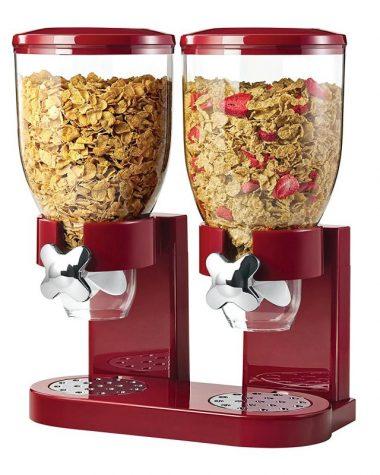 Dispenser per cereali doppio