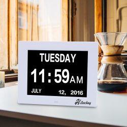 Orologio da tavolo con calendario - Regali per nonni