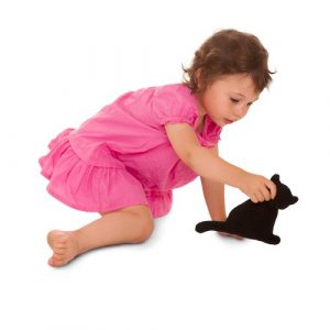 Cuscino termico gatto - Nero