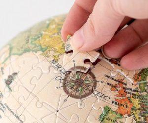 Puzzle 3D mappamondo - Idea regalo