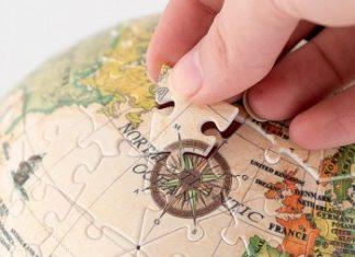 Puzzle 3D mappamondo - Dettaglio