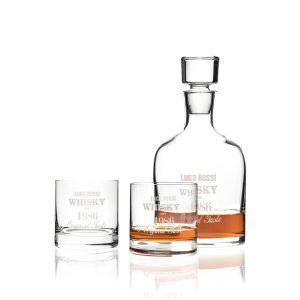 Regali festa del papa' - Set whisky personalizzabile