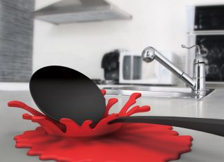 Accessori da cucina originali - Appoggia cucchiaio