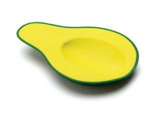 Avocado appoggia cucchiaio in silicone