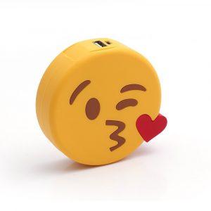 Caricabatteria Emoji bacetto
