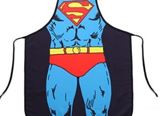 Superman superhero apron
