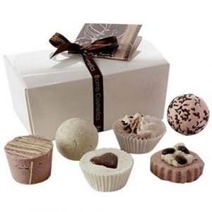 Set da bagno al cioccolato