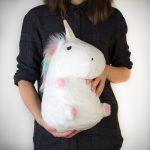 Cuscino unicorno luminoso