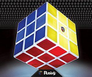Lampada cubo di Rubik