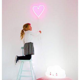 Lampada cuore al neon