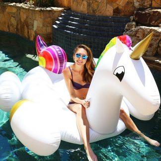 Unicorno gonfiabile piscina e mare - Idee regalo estate