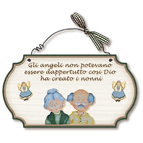 Regali Di Natale Per Nonni.Targhe Metallo Super Regalo Per Nonni Ebci It Idee Regalo