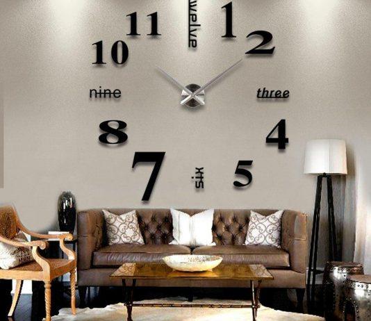 Orologio da parete tridimensionale