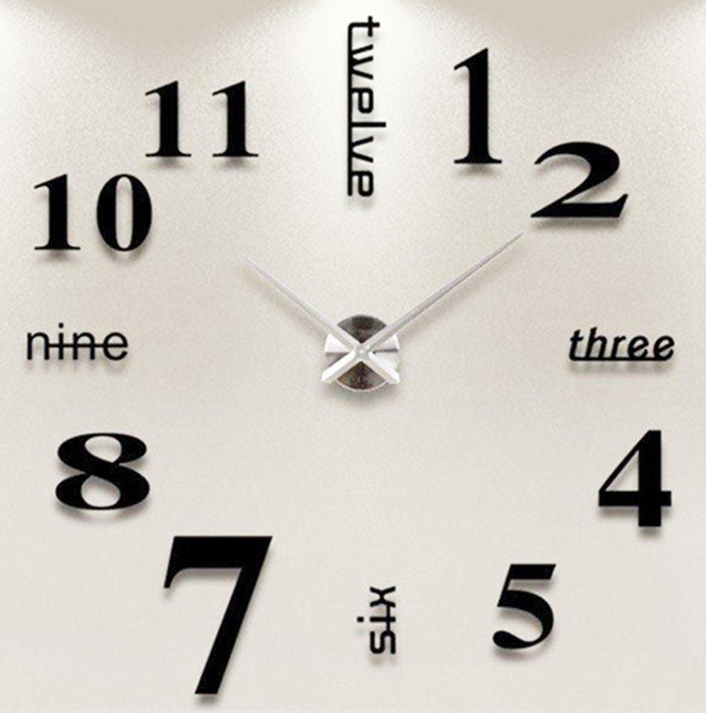 Orologio da parete tridimensionale - Ebci.it | Idee regalo