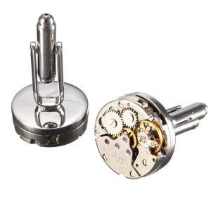 Gemelli originali movimento dell' orologio - Idea regalo uomo