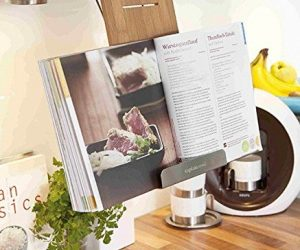 Leggio per libri di cucina e tablet