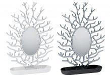 Portagioielli con specchio