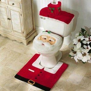 Copri wc Babbo Natale