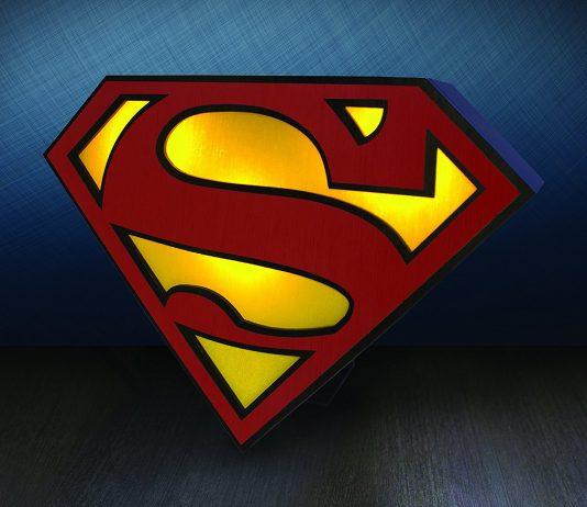 Lampada Superman