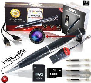 Penna con videocamera incorporata