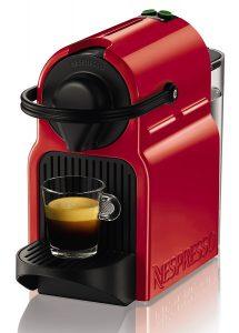 Macchina caffè espresso Inissia - Rossa