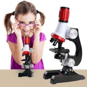 Consiglio regalo bambino 10 anni - Microscopio giocattolo
