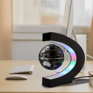 Globo a levitazione magnetica - Uomo ufficio