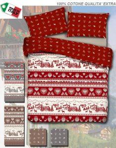 Idee regalo Natale per genitori - Copripiumino natalizio